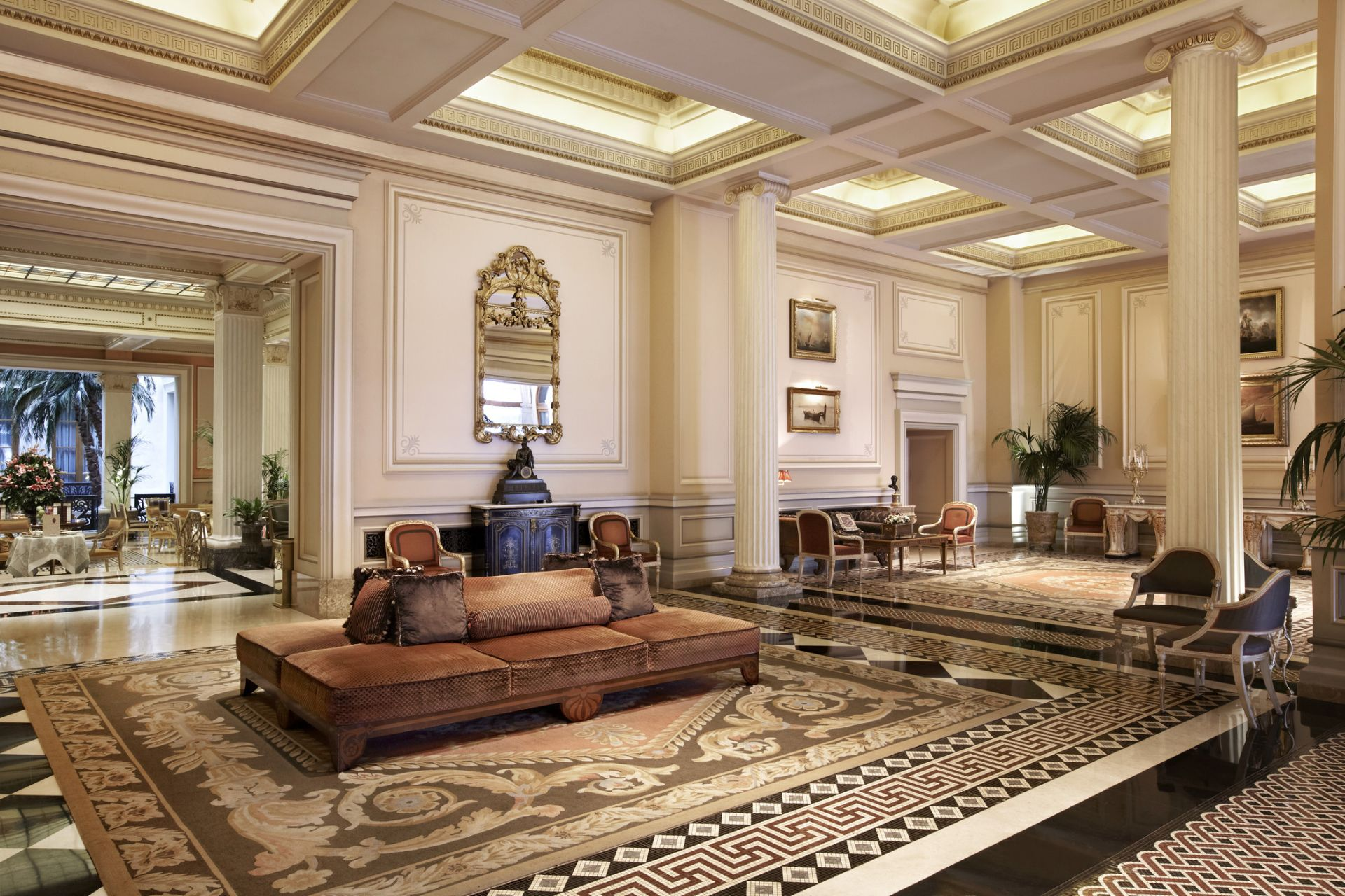 Hotel Grande Bretagne A Luxury Collection Athens Photo Gallery Exterior View Lobby Alexander
